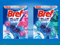 Logo Diventa tester prodotti Bref Blue Activ Hygiene e Floral! come partecipare