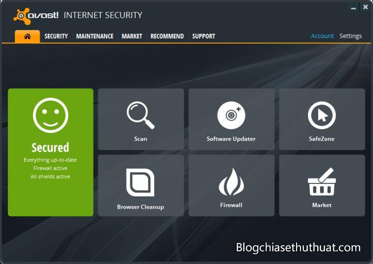 Download Avast Internet Security 2018 và bản quyền miễn phí đến 2020