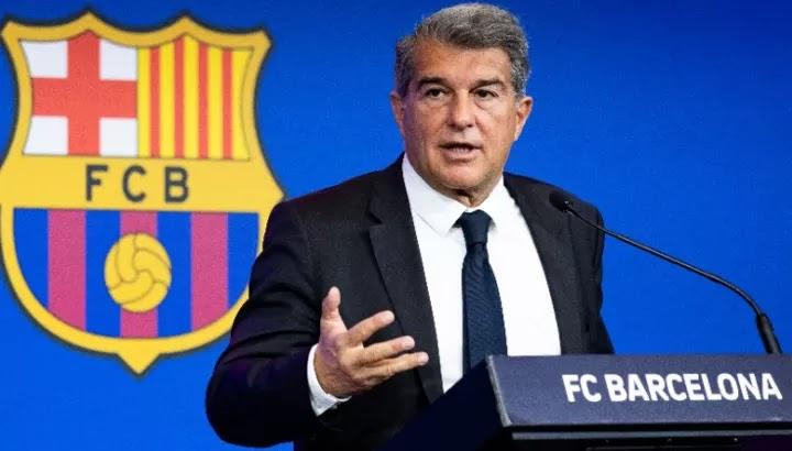 Laporta: We can register Depay, Aguero & Eric Garcia but not Messi