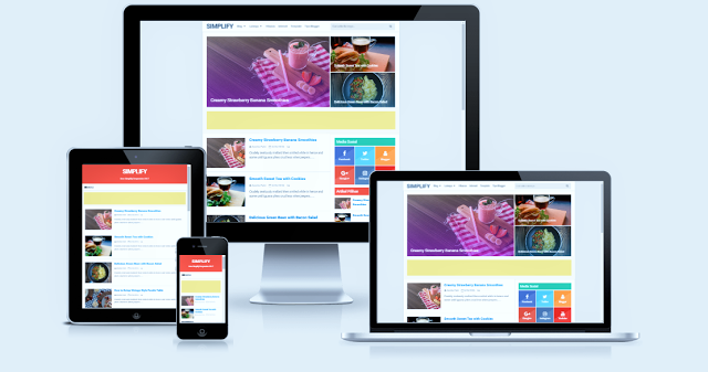 DIGZThemes - Simplify 2 Responsive Blogger Template Premium