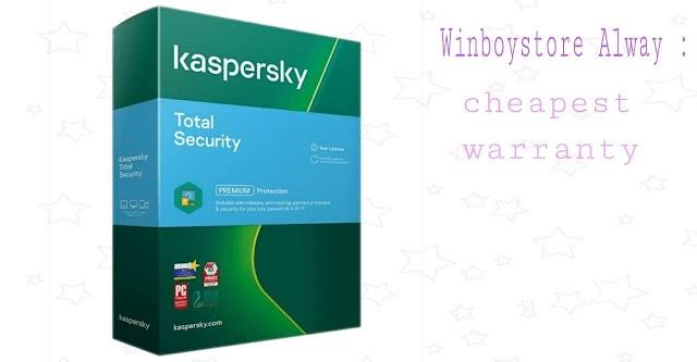 Kaspersky Total Security Global 1 PC 1 Year