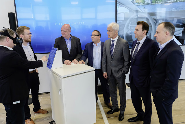 S&T | Volkswagen Showcases Future-Oriented Group IT projects