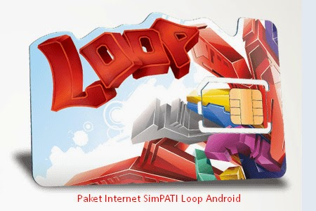 Paket Internet simPATI Loop untuk Android (30 Hari)