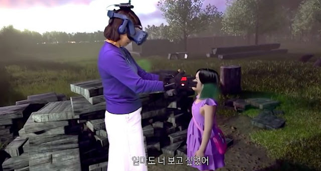 A bereaved mother finds her deceased child in Virtual Reality (+ VIDEO)