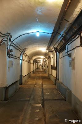 Una delle gallerie sotterranee del Four a Chaux di Lembach