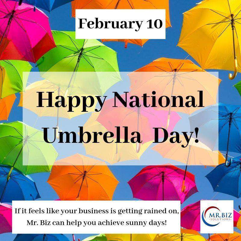National Umbrella Day Wishes Photos