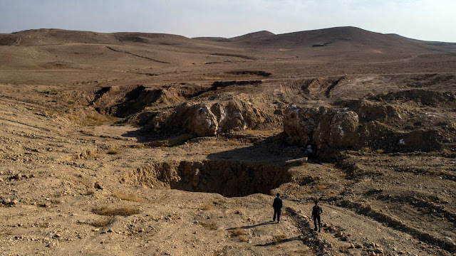 Baghdadi buried 25 million dollars in the Iraqi desert for hiding