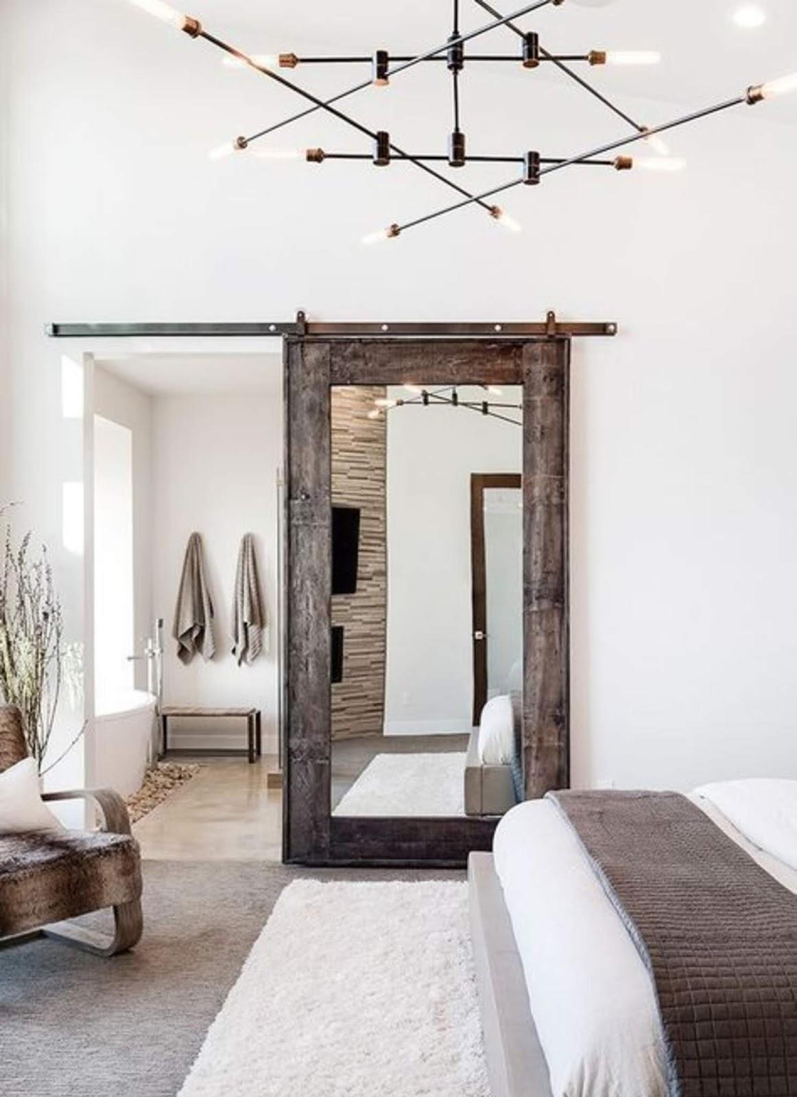 incredible home decor idea with a mirror