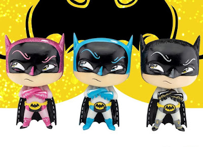 Entertainment Earth Excusive Batman Resin Statues by Miss Mindy x Enesco