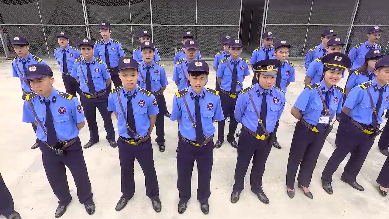 May đồng phục bảo vệ chất lượng thể hiện quy mô và sự chuyên nghiệp cơ quan