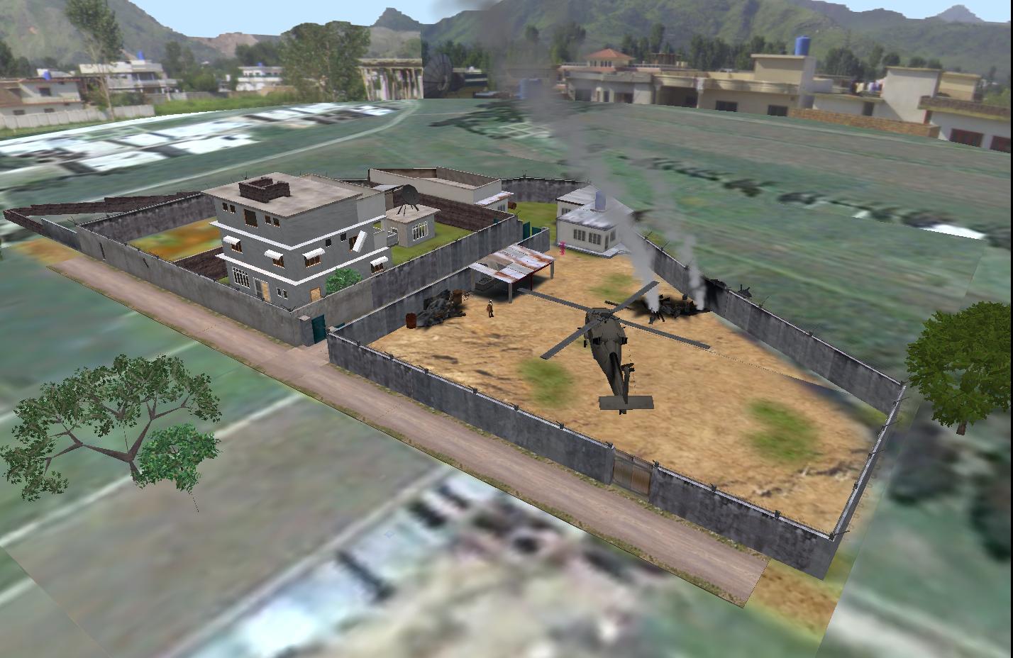 Second Life Newser: Osama Bin Laden's Abbottabad Compound ...