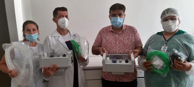 Iretama recebe respiradores para combate ao coronavírus