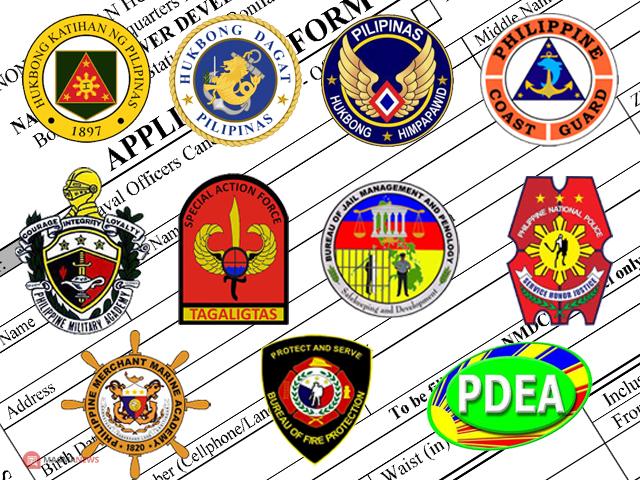 AFP, PCG, PNPA, PMA, BJMP, PDEA, BJMP, BFP | Downloadable