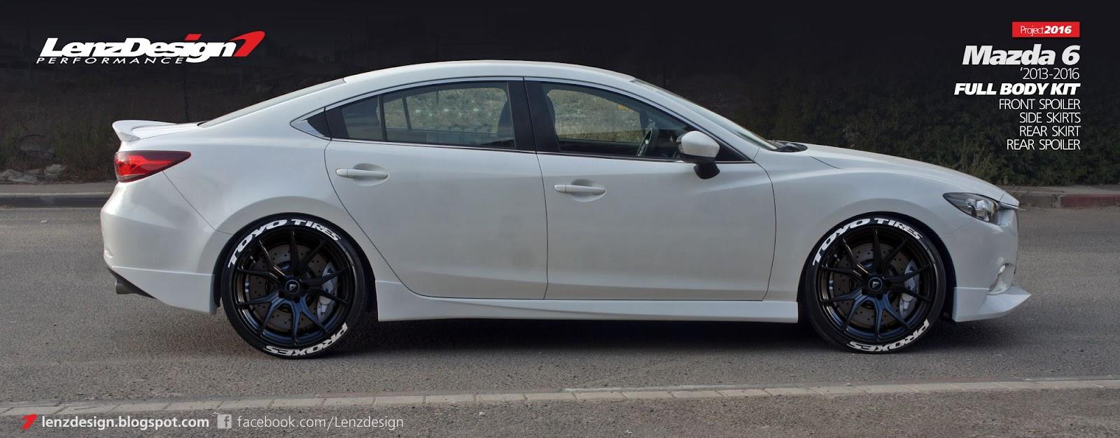 Mazda 6 Gj Atenza Tuning Amp Body Kit Lenzdesign Performance