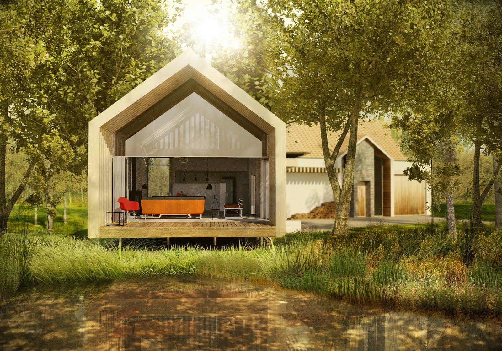Oak framed house gets planning permission peregrine mears architects planning permission for a new off grid home in dorset baanklon Gallery