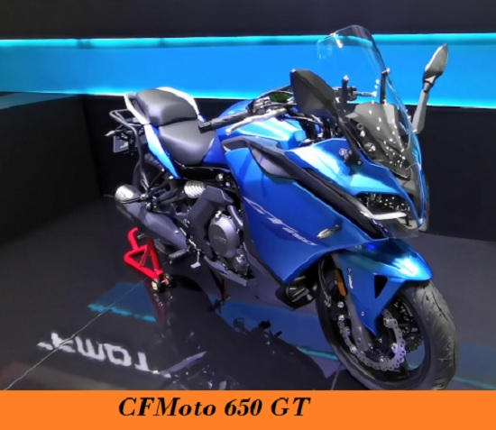 New Upcoming  CFMoto 650 GT