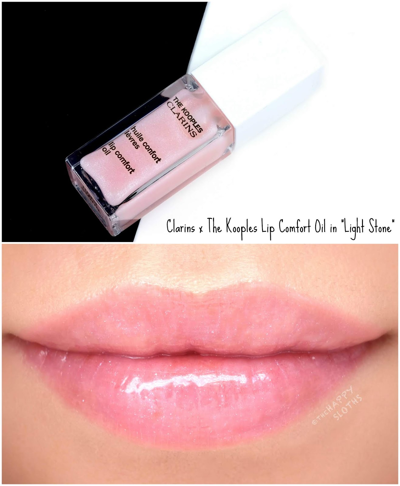 "Clarins x The Kooples | Instant Light Lip Comfort Oil in ""Light Stone"": Review and Swatches"
