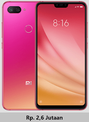 Harga dan Spesifikasi Xiaomi Mi 8 Lite