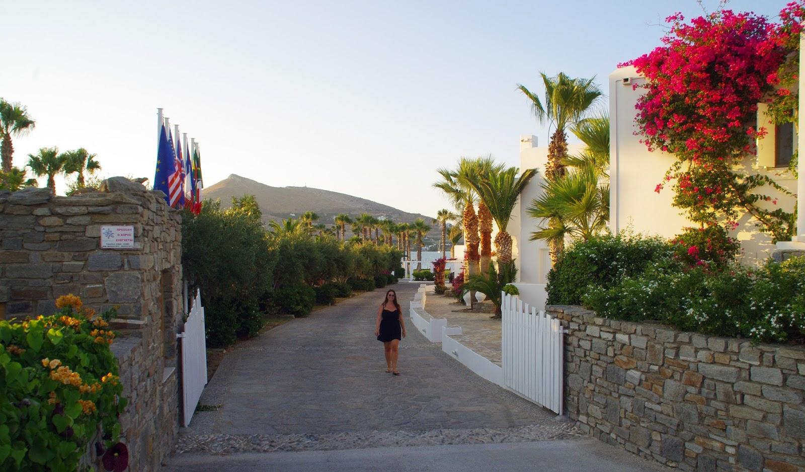 Astir of Paros Entrance
