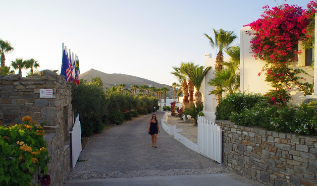 Astir of Paros Entrance