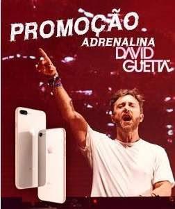 Cadastrar Promoção Rádio Transamérica iPhone 8 Adrenalina David Guetta