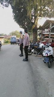 Antisipasi Balapan Liar Personil Polsek Baraka Patroli