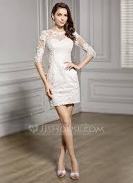 vestido de noiva curto com renda romântico - fotos e modelos