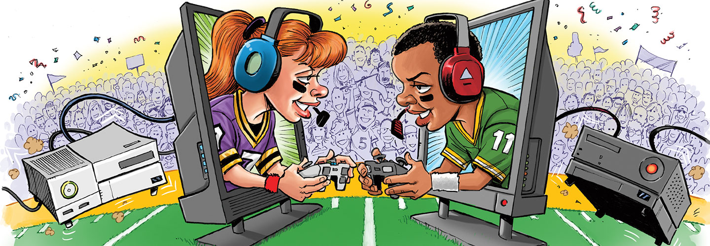 What Video Games Can Teach Children About Sports