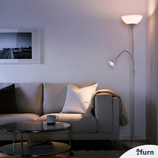 Jual Lampu Lantai Baca dan Sorot Atas Ikea