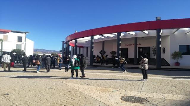 أكادير : مهندسو المستقبل يحتجون و يدخلون في إضراب مفتوح .