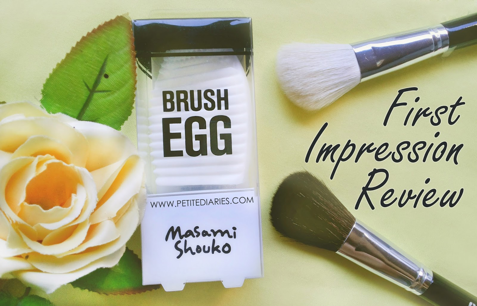 brush egg white review