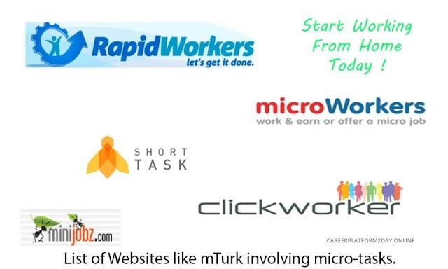 Best  Micro Jobs sites to Make Money Online