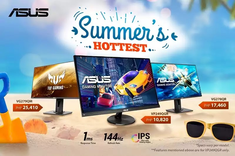 ASUS fastest and highest-value gaming monitors