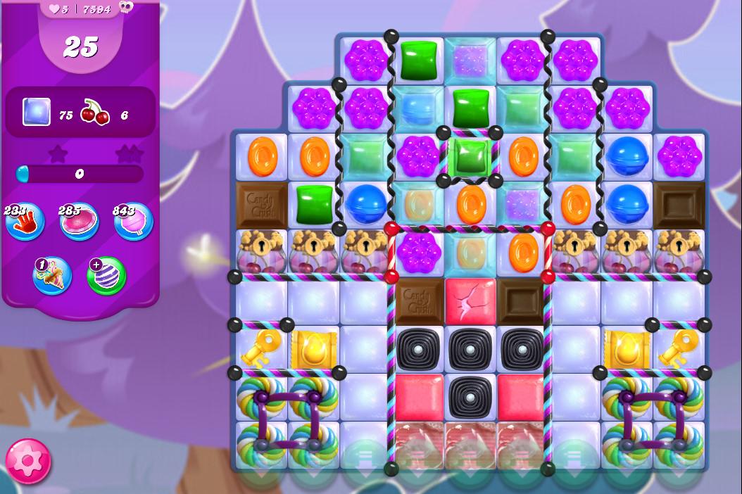 Candy Crush Saga level 7594