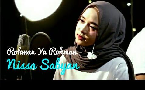 Lirik Rohman Ya Rohman Vocal Nisya Syaban