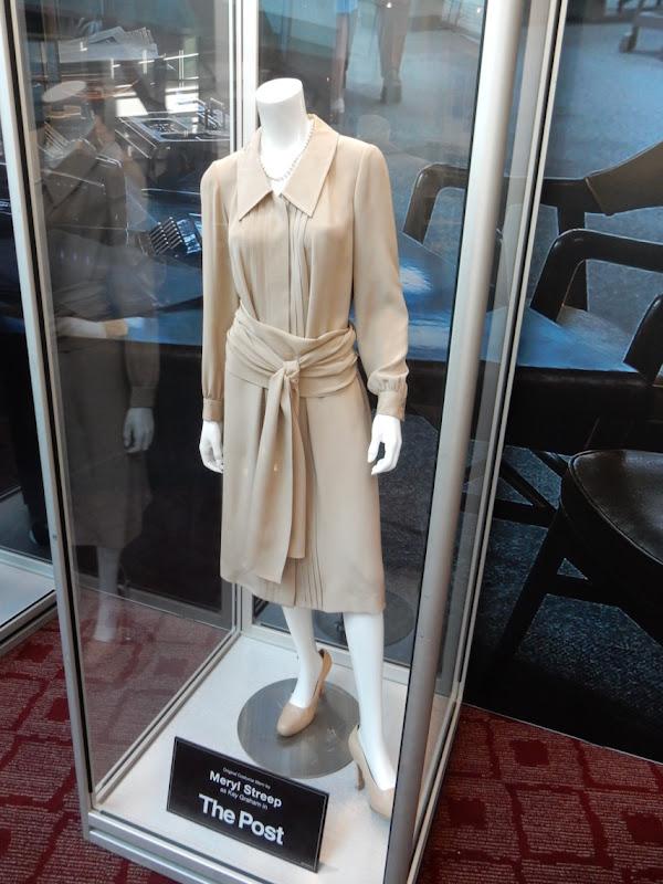 Meryl Streep Post movie costume