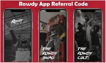Rowdy App Referral Code + 25 RowdyClub Points/Refer