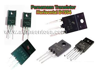Persamaan Transistor Horisontal D1554