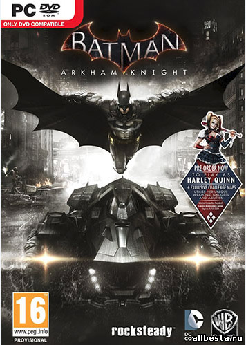 Batman: Arkham Knight torrent download for PC ON Gaming x