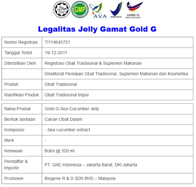 Image result for jelly gamat gold-g fahmy herbal