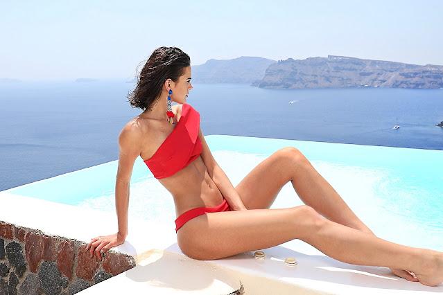 Bruna Marquezine Latest Hot Red Bikini Pics Actress Trend