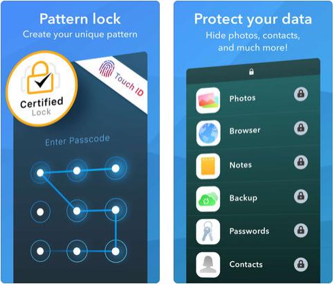 apps para proteger aplicaciones con huella dactilar