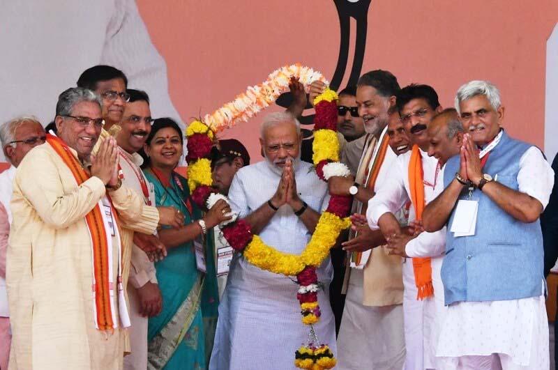 कांग्रेस पर जमकर बरसे PM मोदी