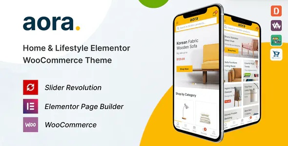 Best Home and Lifestyle Elementor WooCommerce Theme