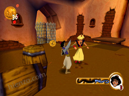 Disney's Aladdin in Nasira's Revenge Game