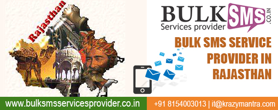 Bulk Sms Service Provider in Rajasthan