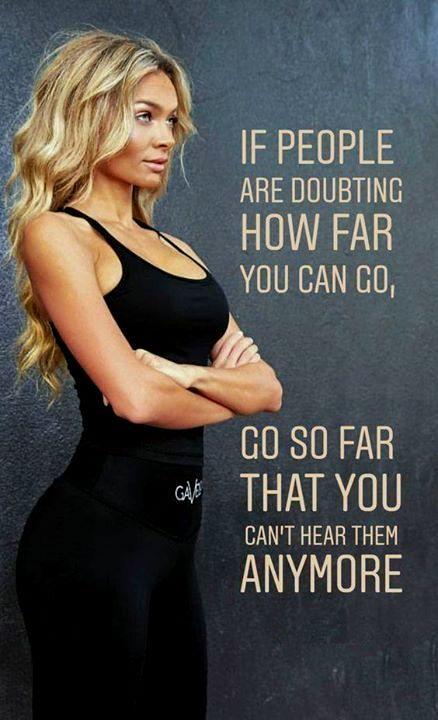 Fitness Motivation For Girl DP
