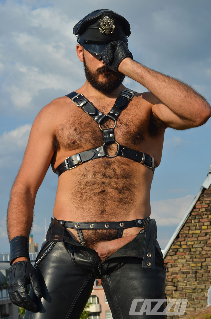 from Ray gay leather big cock