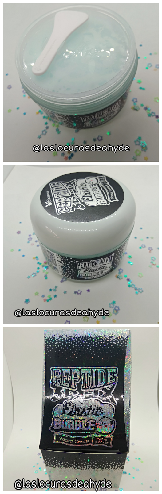 packaging Elastic Bubble FAcial Cream