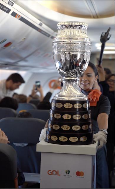 Blog Apaixonados por Viagens - RioGaleão - Congonhas - Tour da Taça Copa América 2019